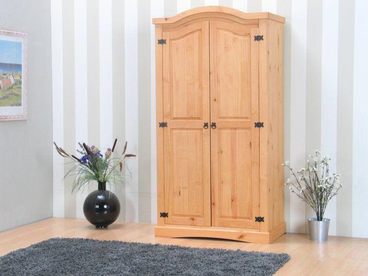 kiefer kleiderschrank new mexico schlafzimmer schrank dielenschrank natur massiv ebay. Black Bedroom Furniture Sets. Home Design Ideas