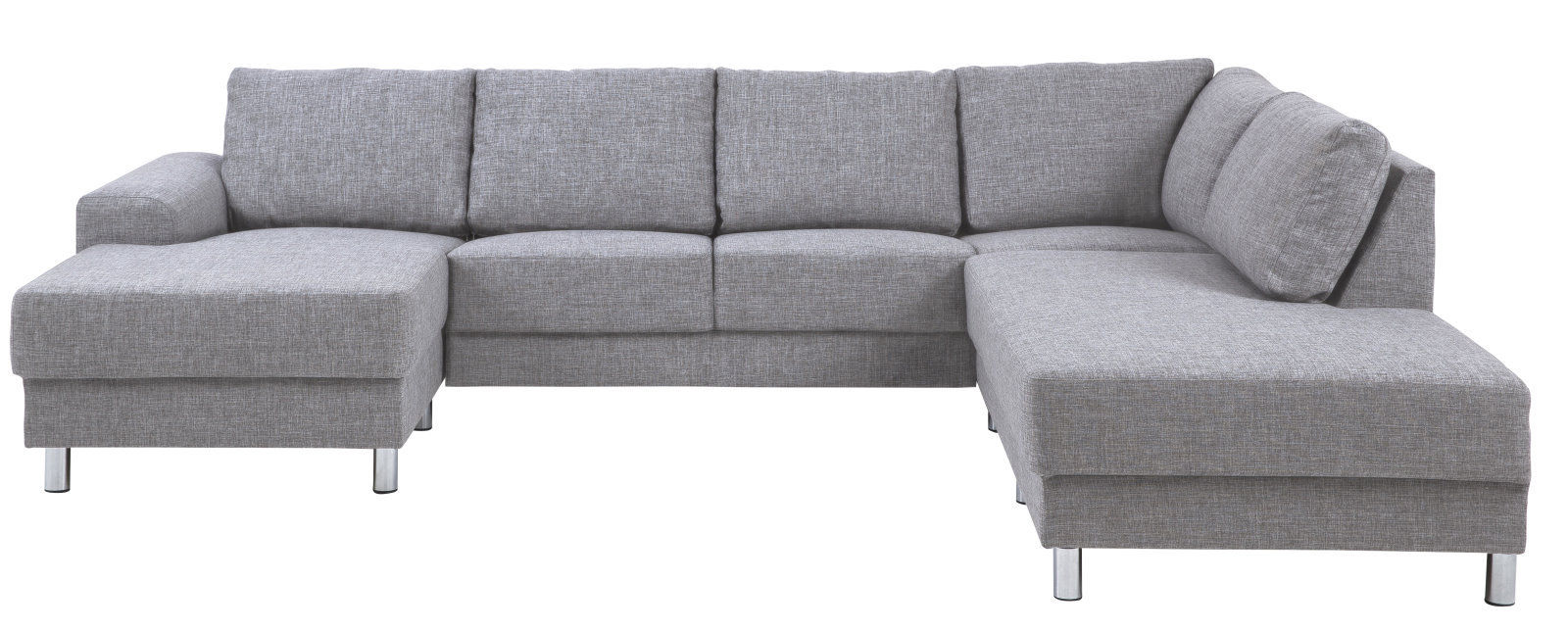 Pkline sofa in hellgrau couch zweisitzer m bel chaiselounge wohnlandschaft ebay - Mobel de wohnlandschaft ...