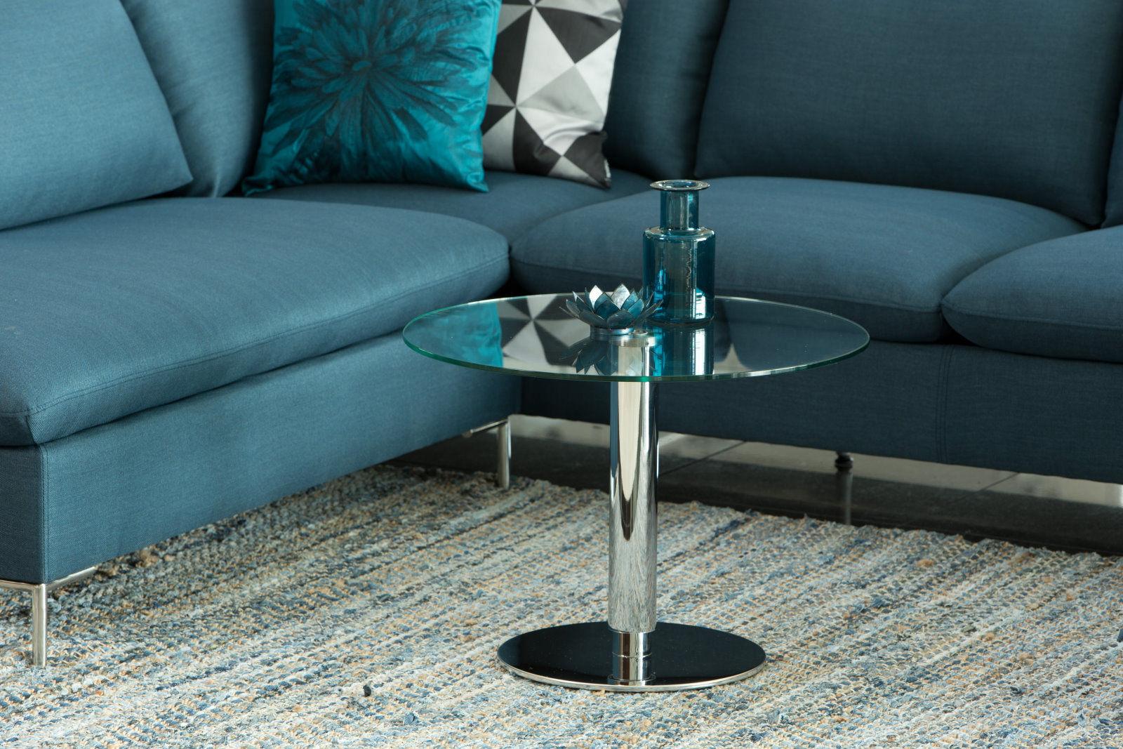 pkline couchtisch mit glasplatte 60cm wohnzimmer tisch. Black Bedroom Furniture Sets. Home Design Ideas