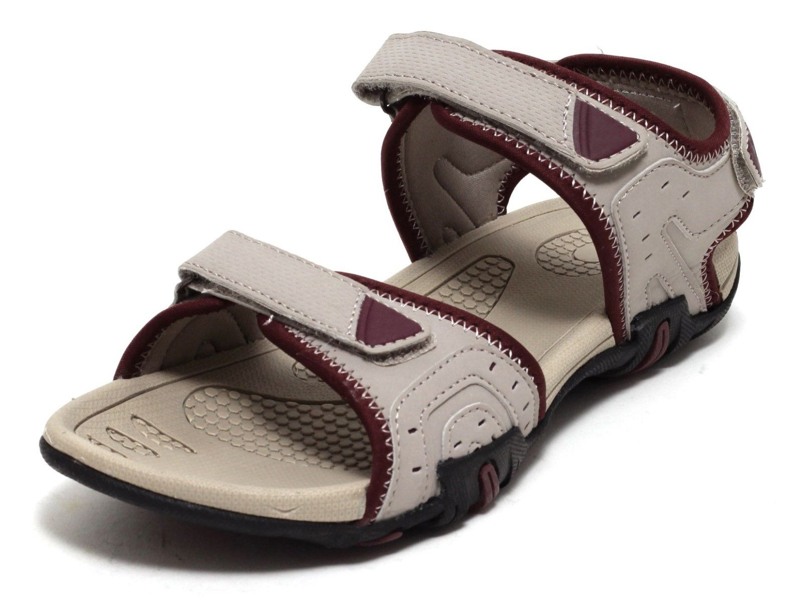 damen trekkingsandalen outdoor sandalette trekking wander sandalen beige beere ebay. Black Bedroom Furniture Sets. Home Design Ideas