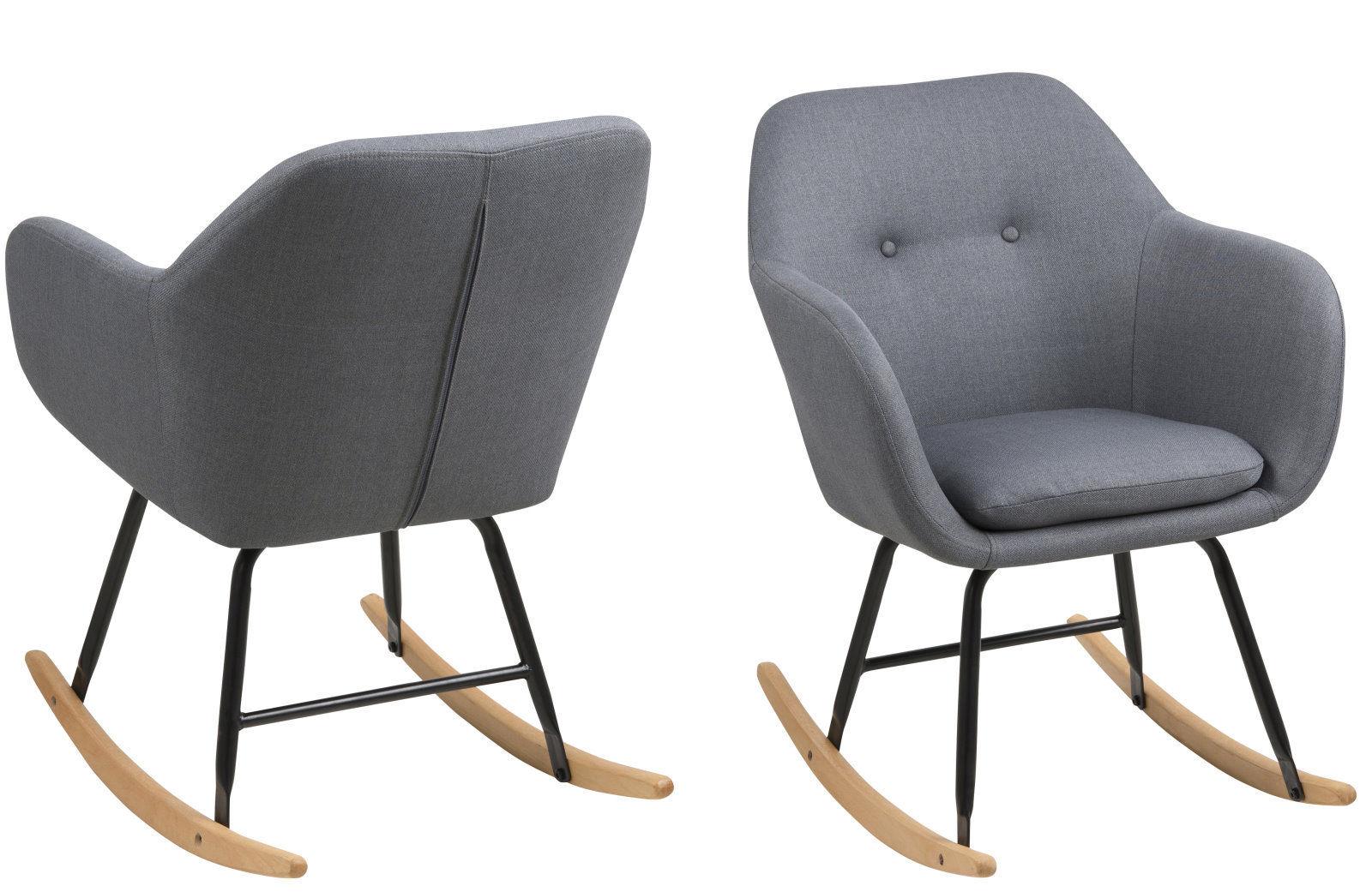 pklline schaukelstuhl in grau schwingstuhl ruhesessel. Black Bedroom Furniture Sets. Home Design Ideas