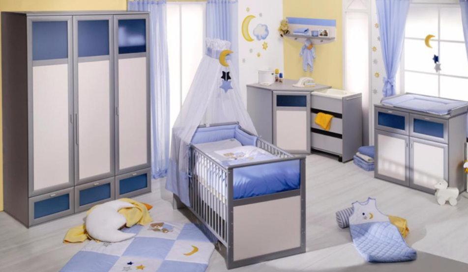 roba sole mio h ngeregal wand garderobe kinderzimmer regal wandboard silber blau m bel wohnen. Black Bedroom Furniture Sets. Home Design Ideas