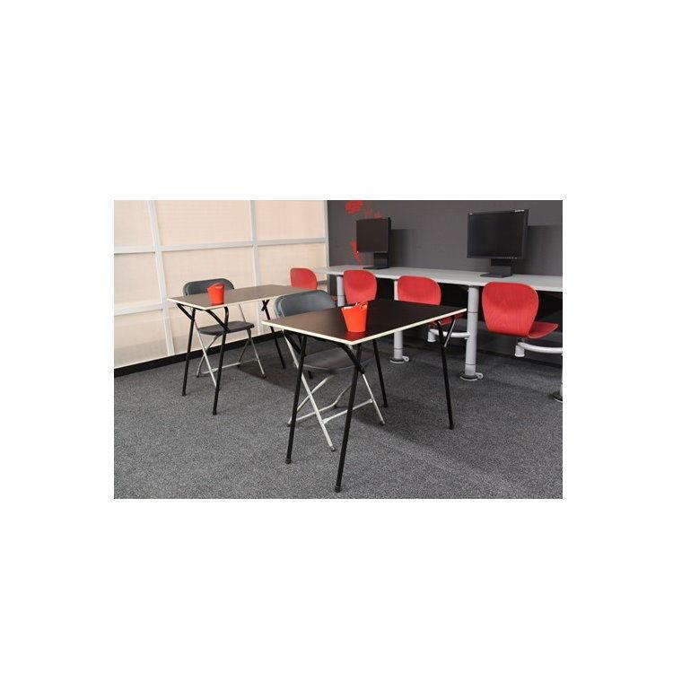2x klappstuhl gartenstuhl campingstuhl gastronomie bistro stuhl st hle schwarz garten m bel. Black Bedroom Furniture Sets. Home Design Ideas