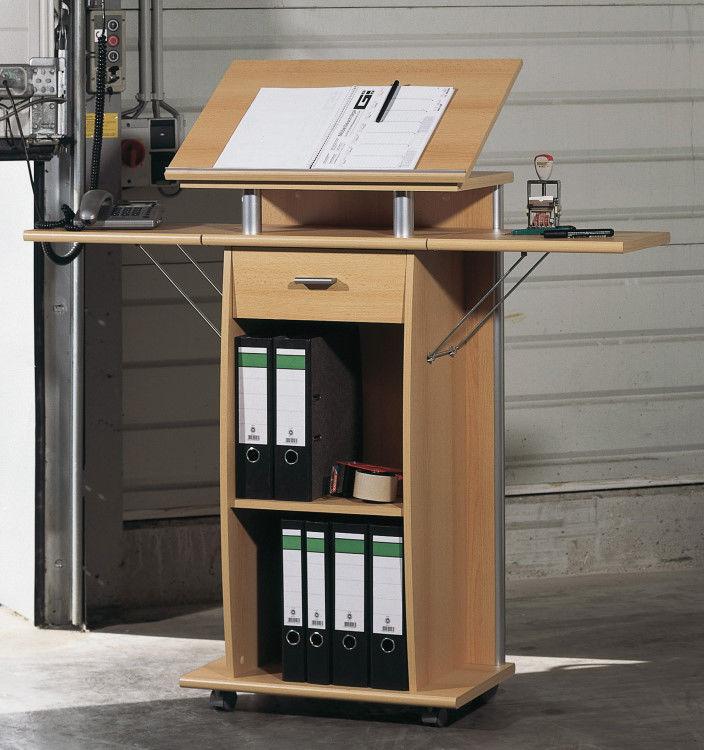 Schreibtisch pult - Stehtisch buro selber bauen ...