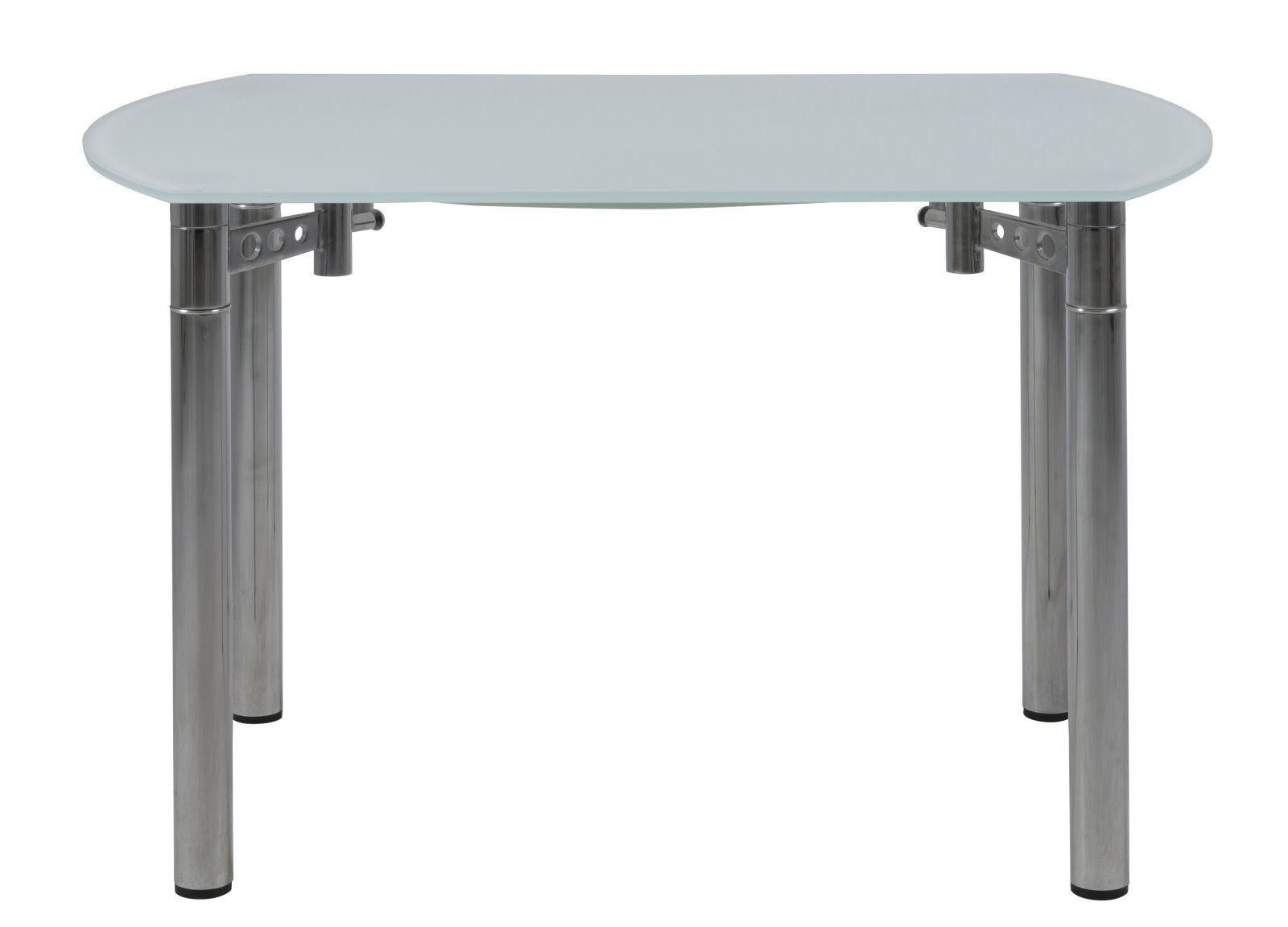 pkline esstisch 120x75 cm ausziehbar esszimmertisch glastisch tisch m bel wohnen tische. Black Bedroom Furniture Sets. Home Design Ideas
