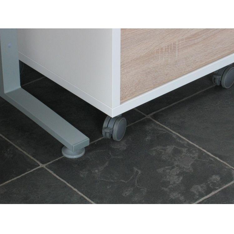 Schreibtisch prima mit schubladenmodul computertisch tisch for Schreibtisch eiche dekor