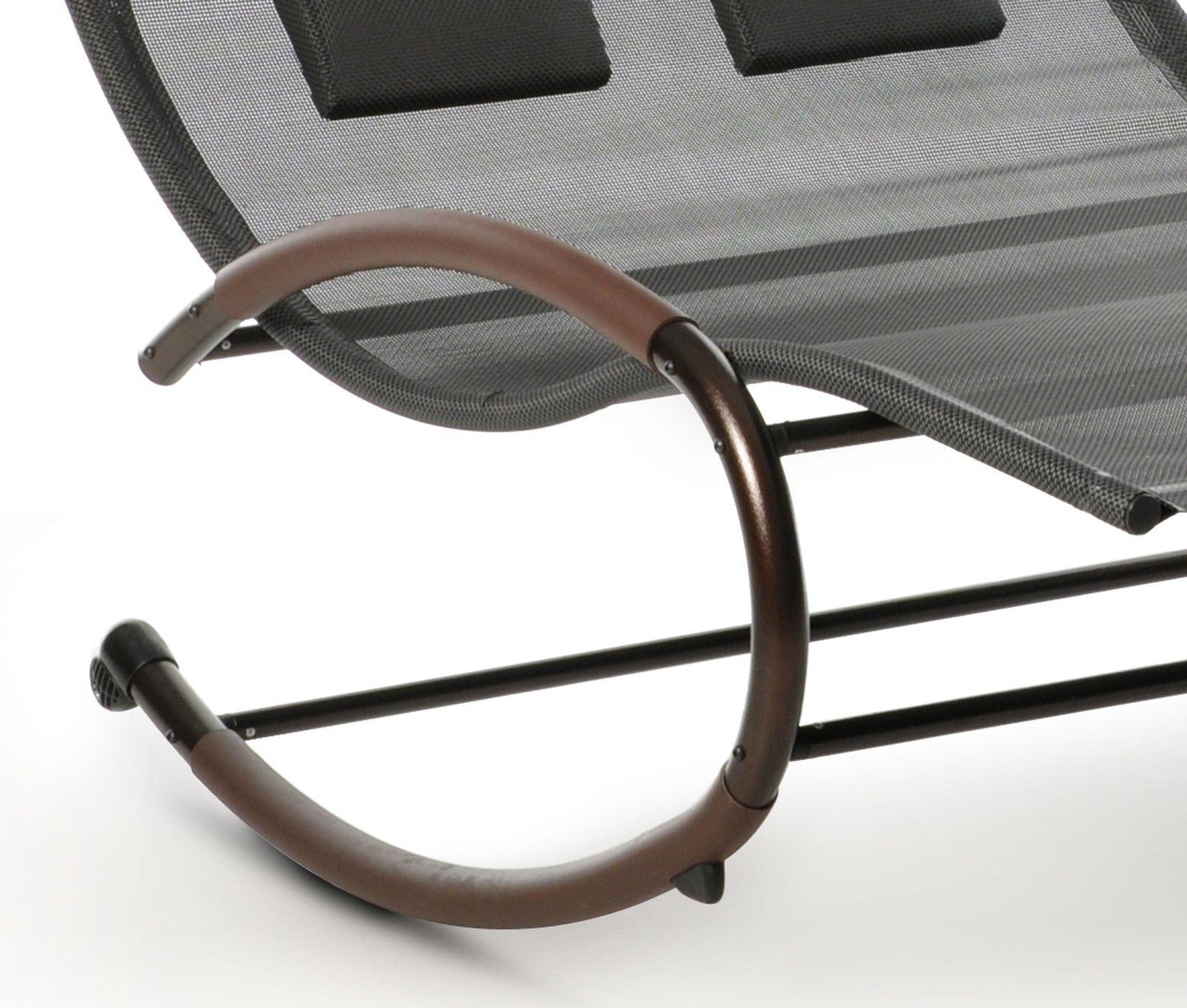 design schaukelliege sonnenliege garten liege relaxliege lounge doppelliege bett garten m bel. Black Bedroom Furniture Sets. Home Design Ideas