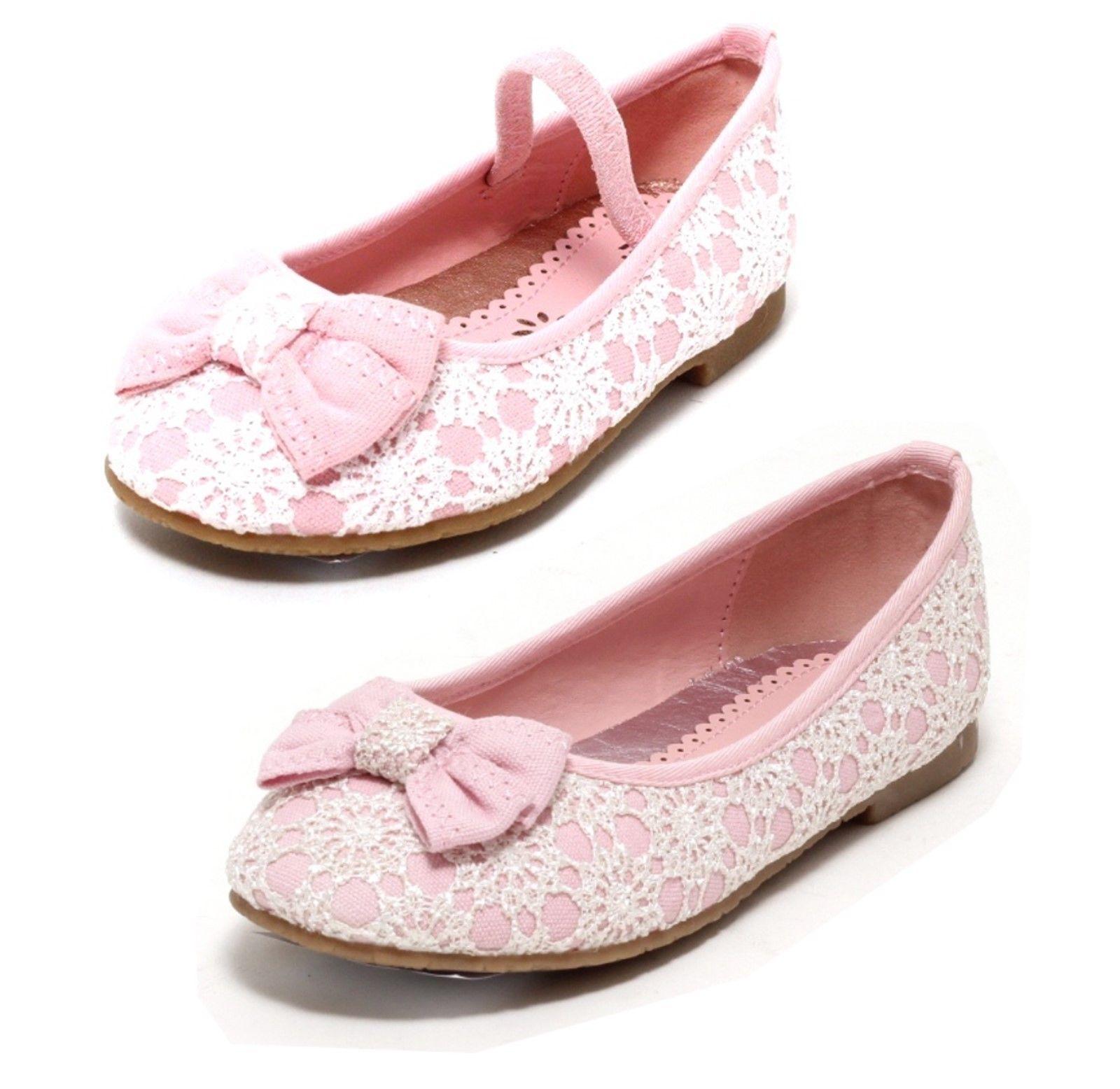 m dchen ballerinas mit spitze sommerschuhe schuhe rosa slipper kinder sandalen kleidung kinderschuhe. Black Bedroom Furniture Sets. Home Design Ideas