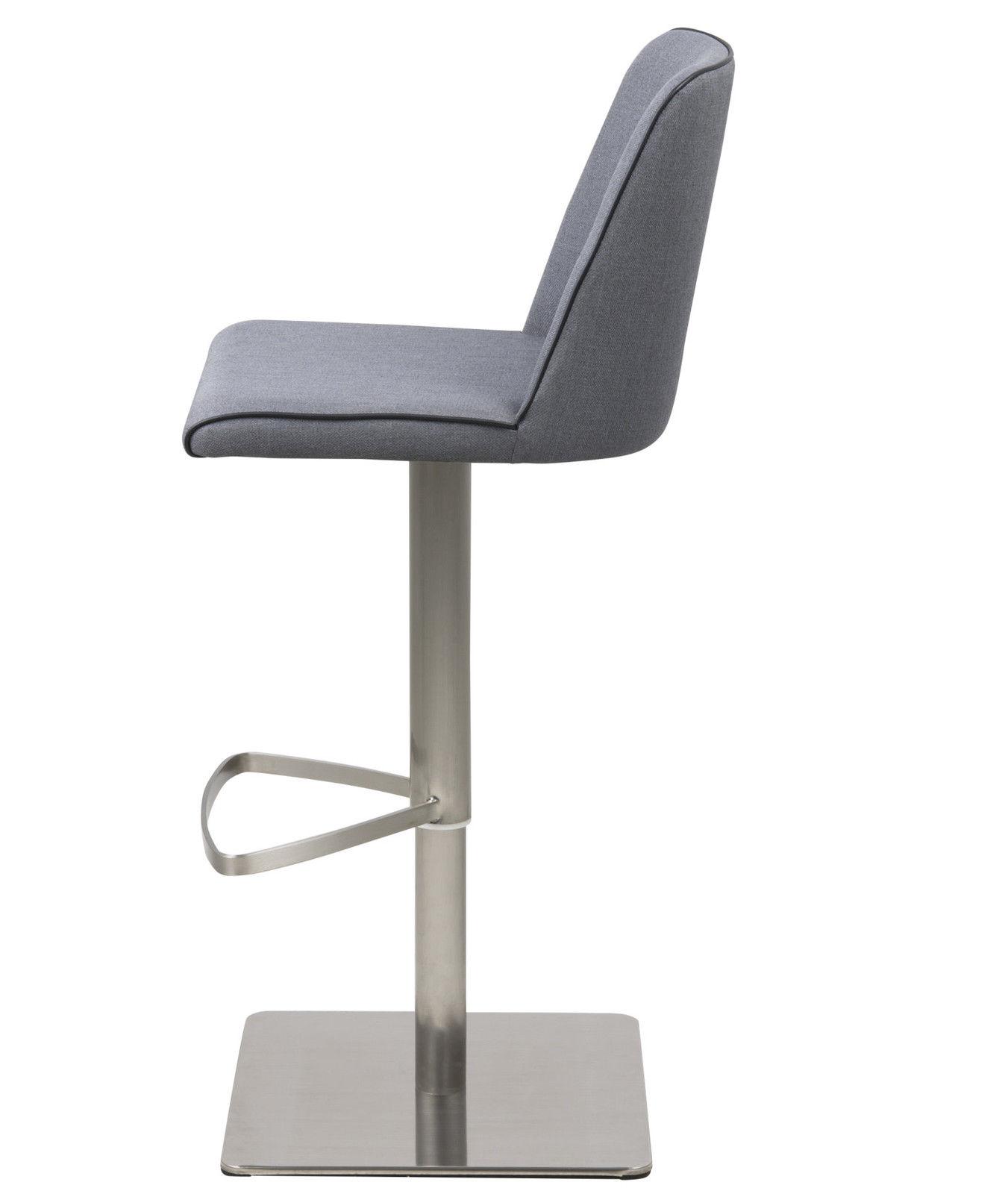 PKline Barhocker Barstuhl Tresenhocker Hocker grau Stühle ...