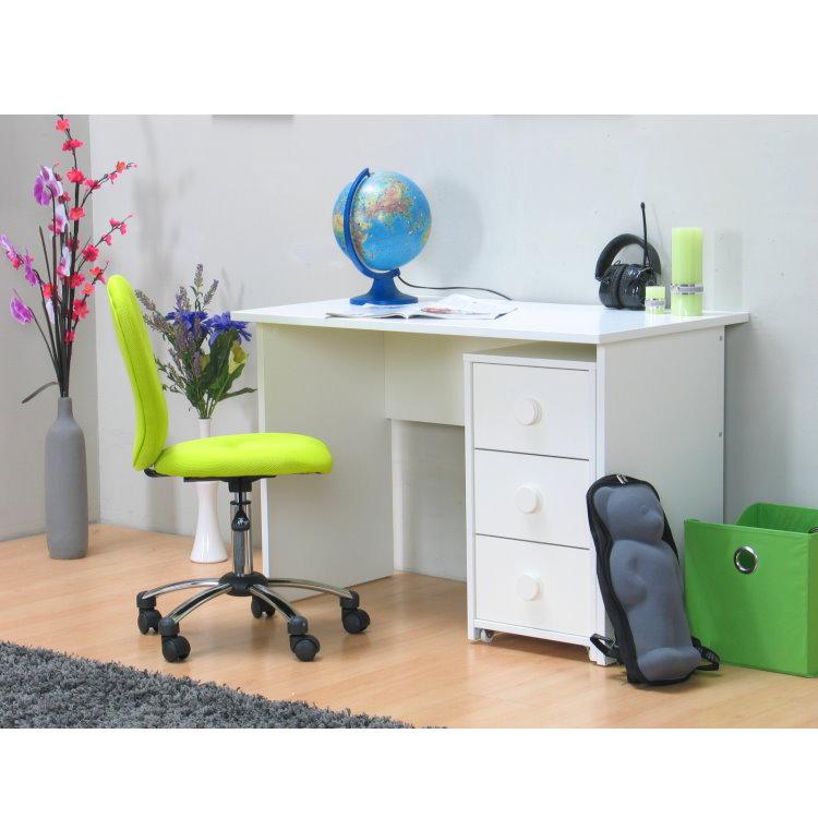 schreibtisch marianne mit rollcontainer weiss dynamic. Black Bedroom Furniture Sets. Home Design Ideas