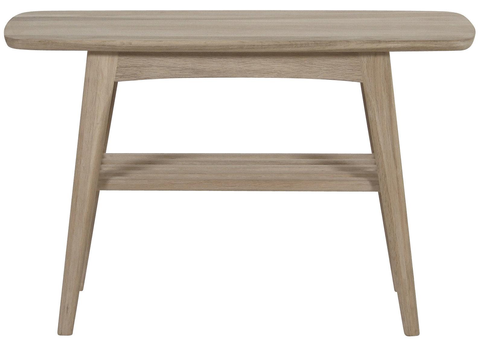 Pkline couchtisch in eiche massivholz wohnzimmer tisch for Holztisch beistelltisch