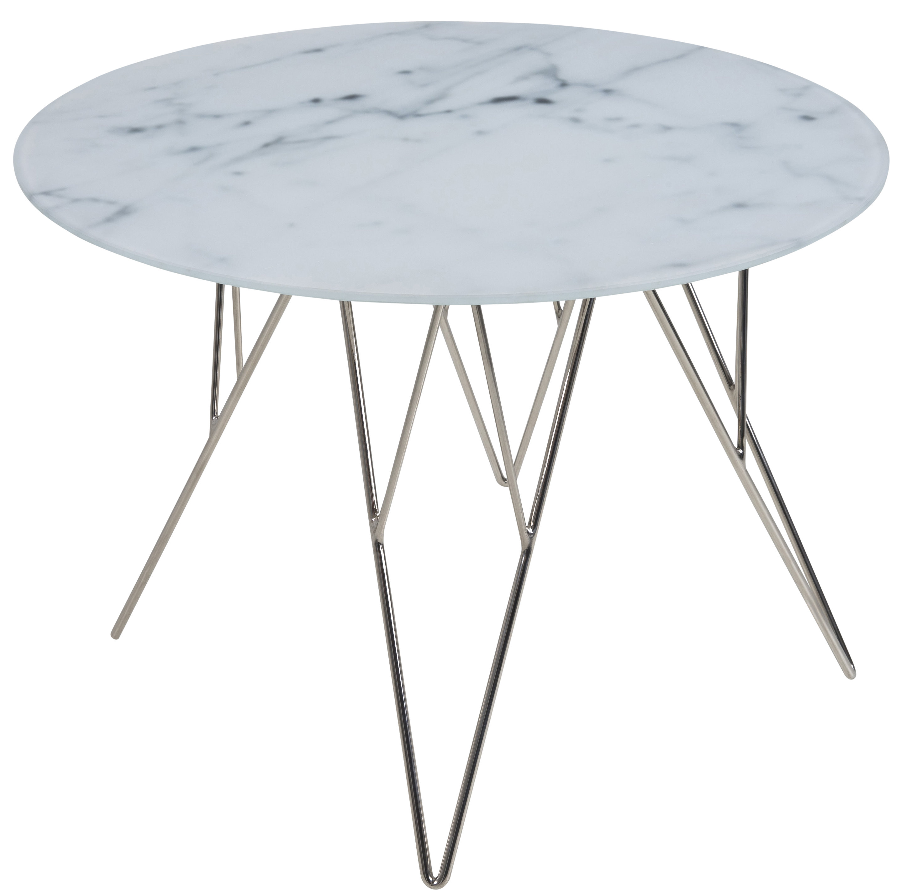 Marble Coffee Table For Living Room: Pkline Side Table ø55cm Marble Table Living Room Corner