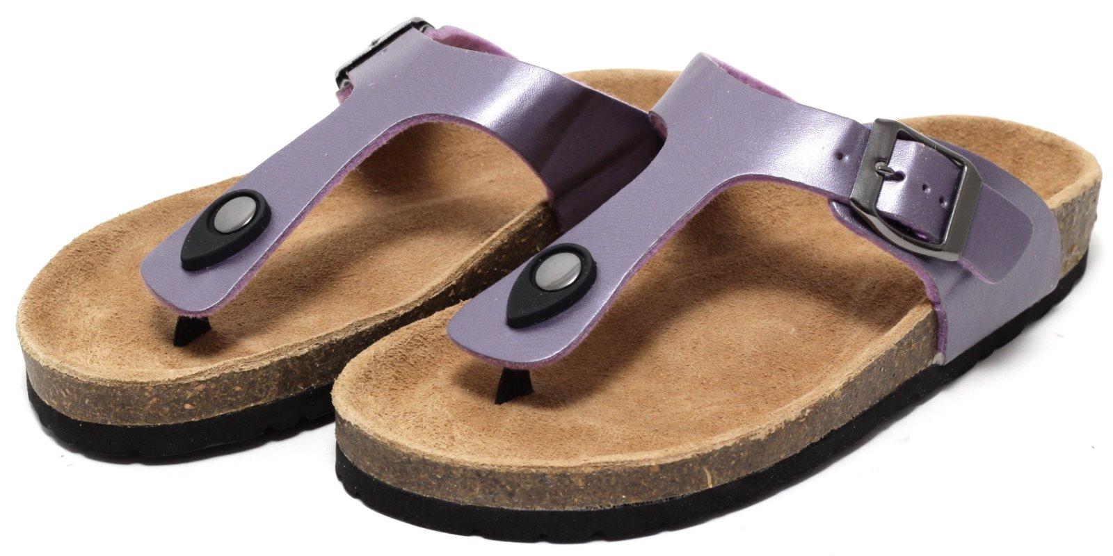 damen bio trend pantolette gr 36 40 zehengreifer zehentrenner sandale sandalette kleidung. Black Bedroom Furniture Sets. Home Design Ideas