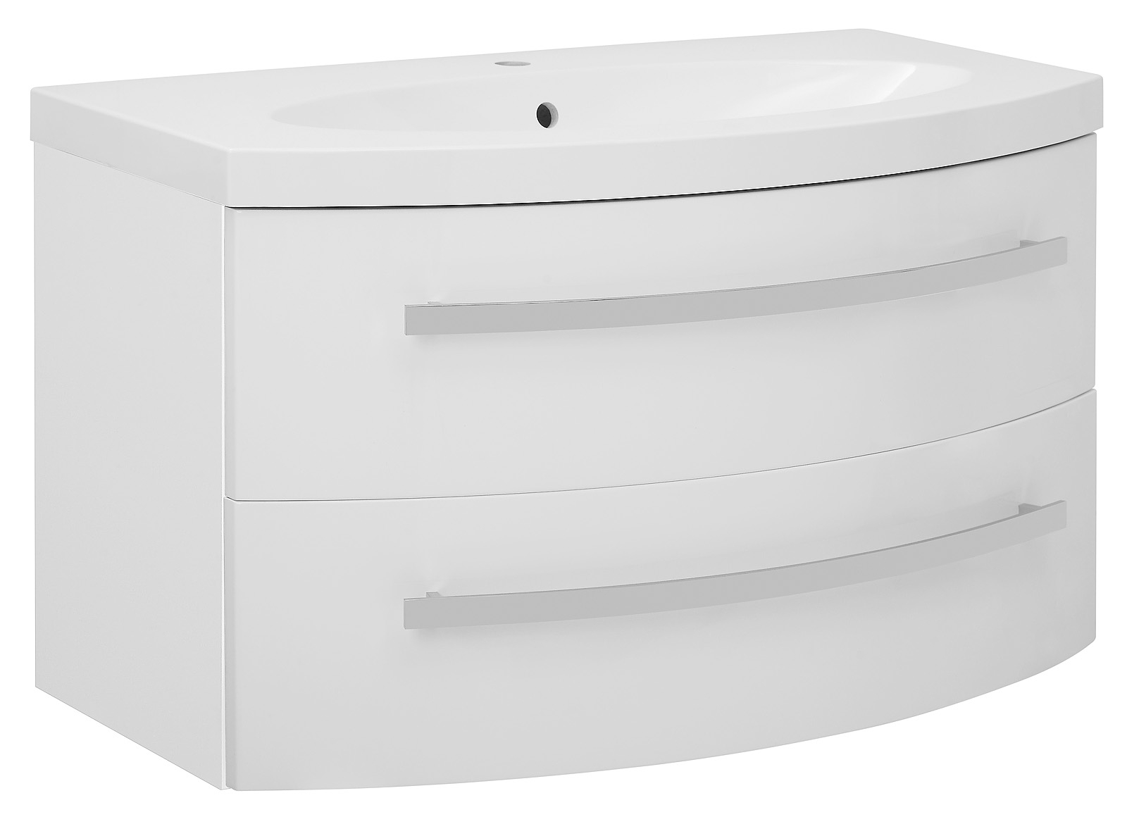 waschbeckenunterschrank carla in wei mit waschbecken unterschrank bad badm bel ebay. Black Bedroom Furniture Sets. Home Design Ideas
