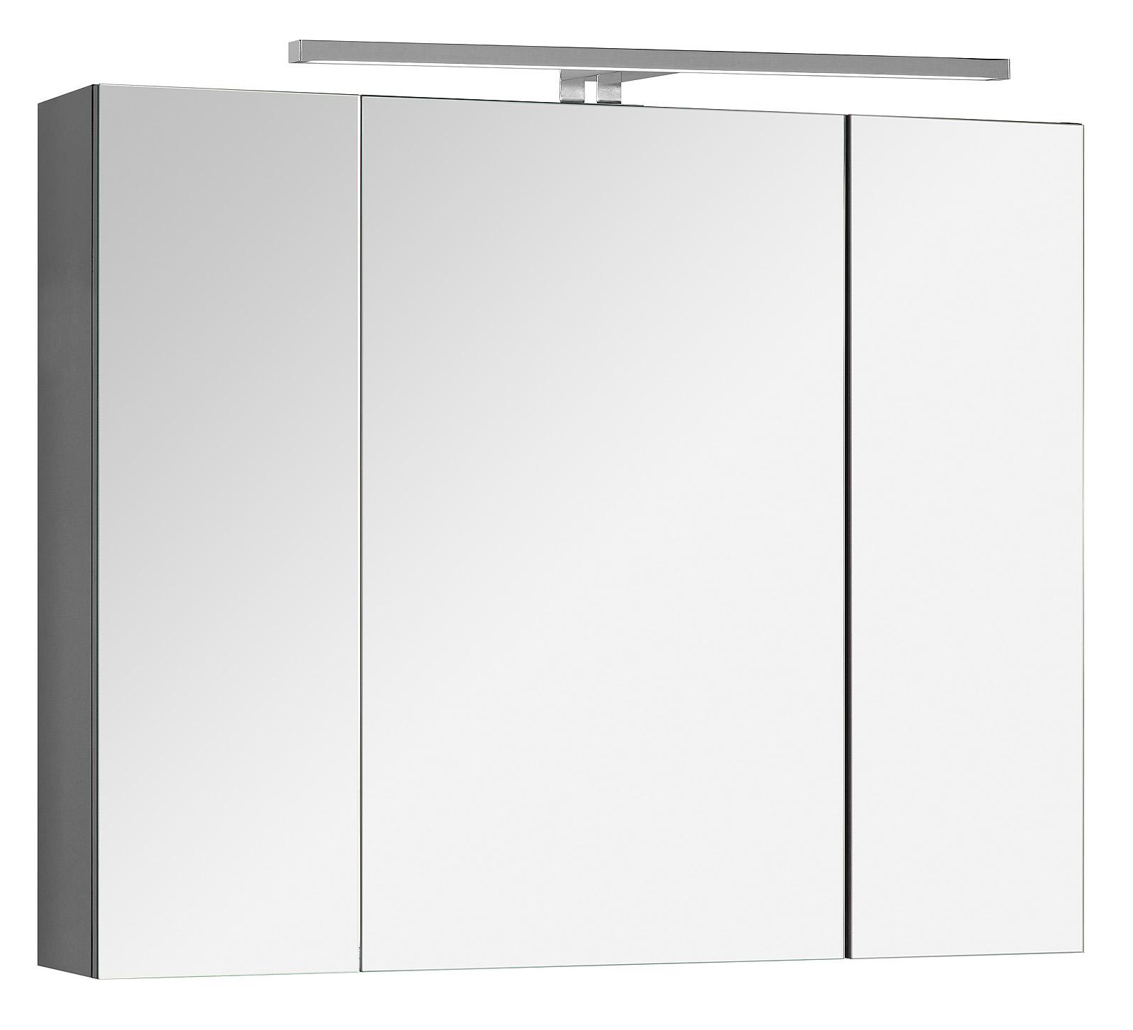 spiegelschrank lili inkl led badezimmerspiegel spiegel. Black Bedroom Furniture Sets. Home Design Ideas