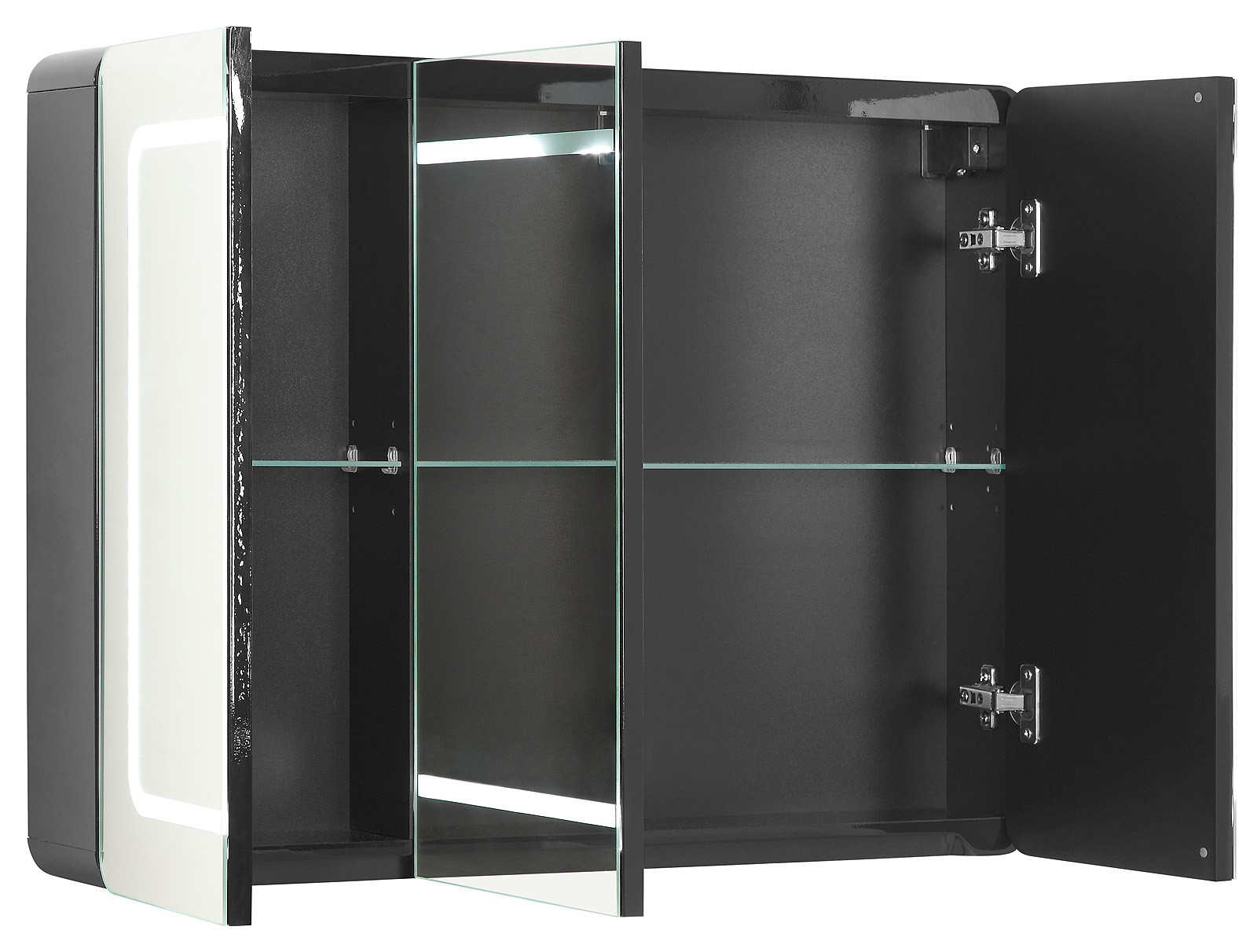 spiegelschrank maja inkl led badezimmerspiegel spiegel. Black Bedroom Furniture Sets. Home Design Ideas