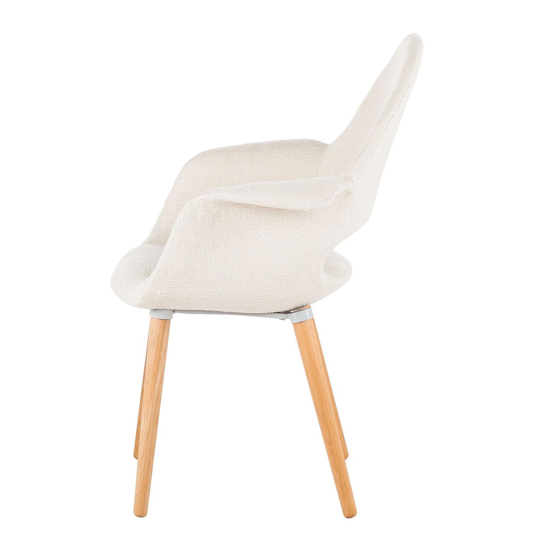 2x armlehnenstuhl beige stuhl sessel esszimmer k che polstersessel polsterstuhl ebay. Black Bedroom Furniture Sets. Home Design Ideas