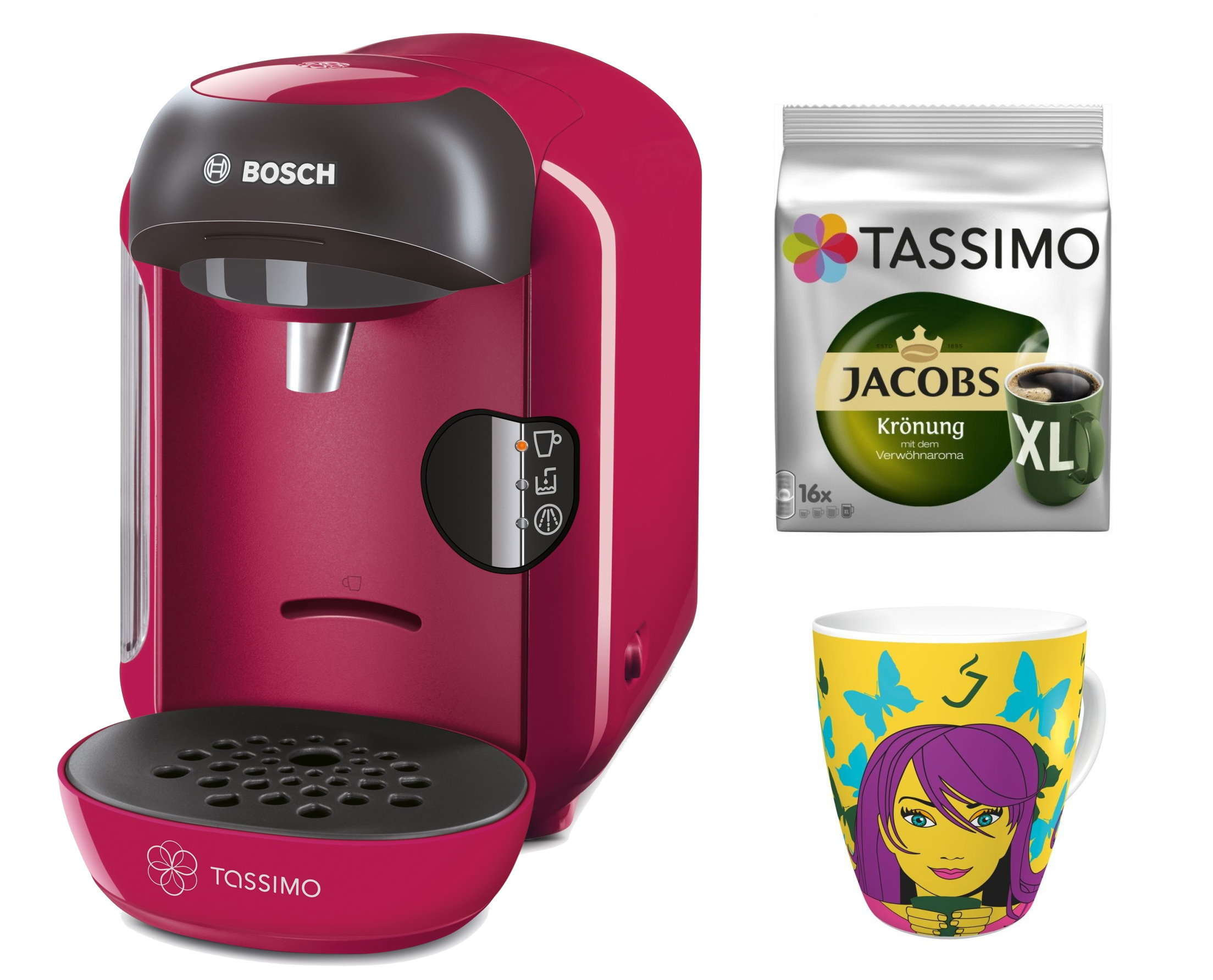 bosch tassimo vivy bons d 39 achat jacobs tdiscs ritzenhoff sammelbecher ebay. Black Bedroom Furniture Sets. Home Design Ideas