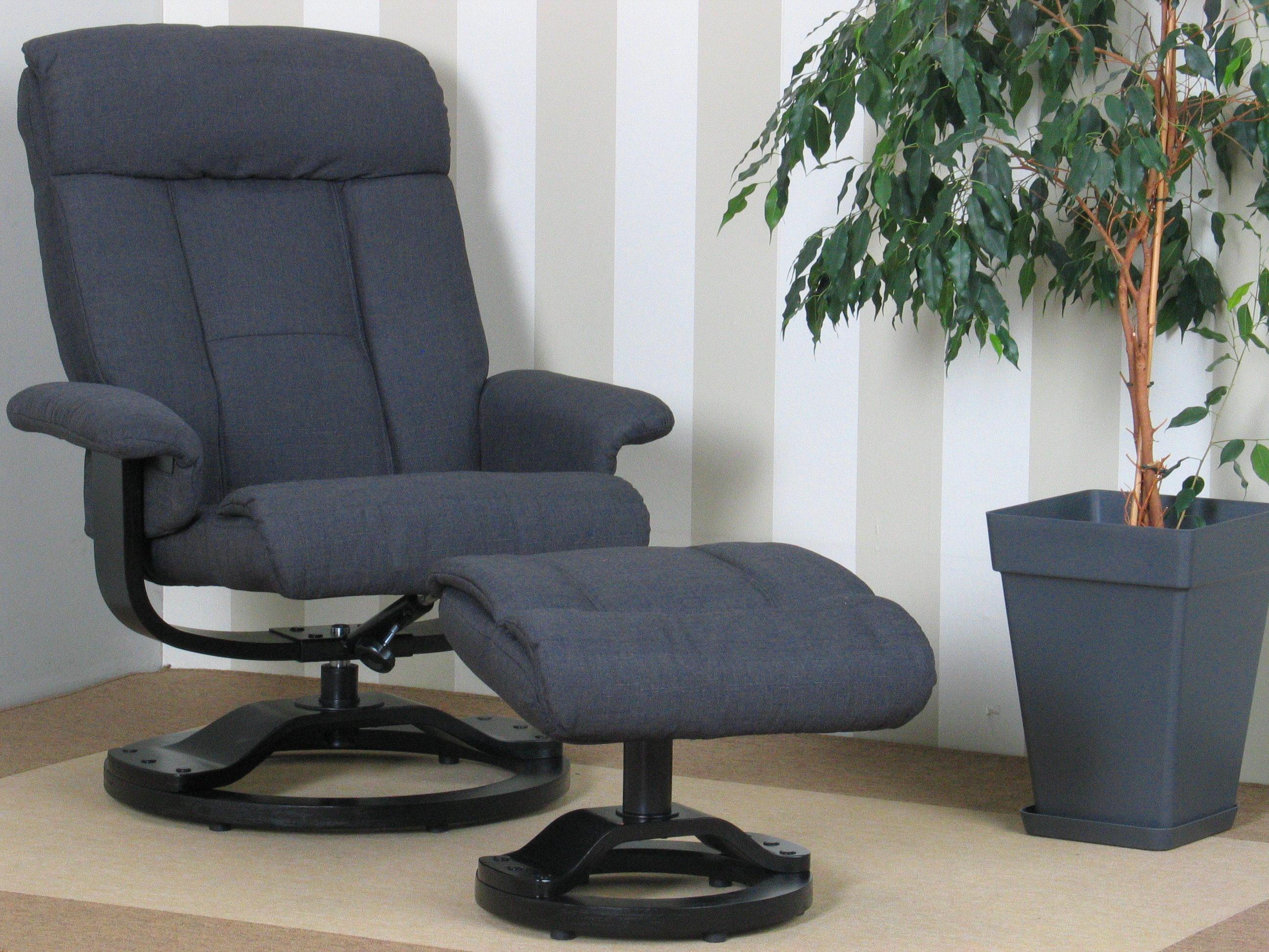 Relax sessel hocker fernsehsessel polstersessel lounge for Hocker verstellbar