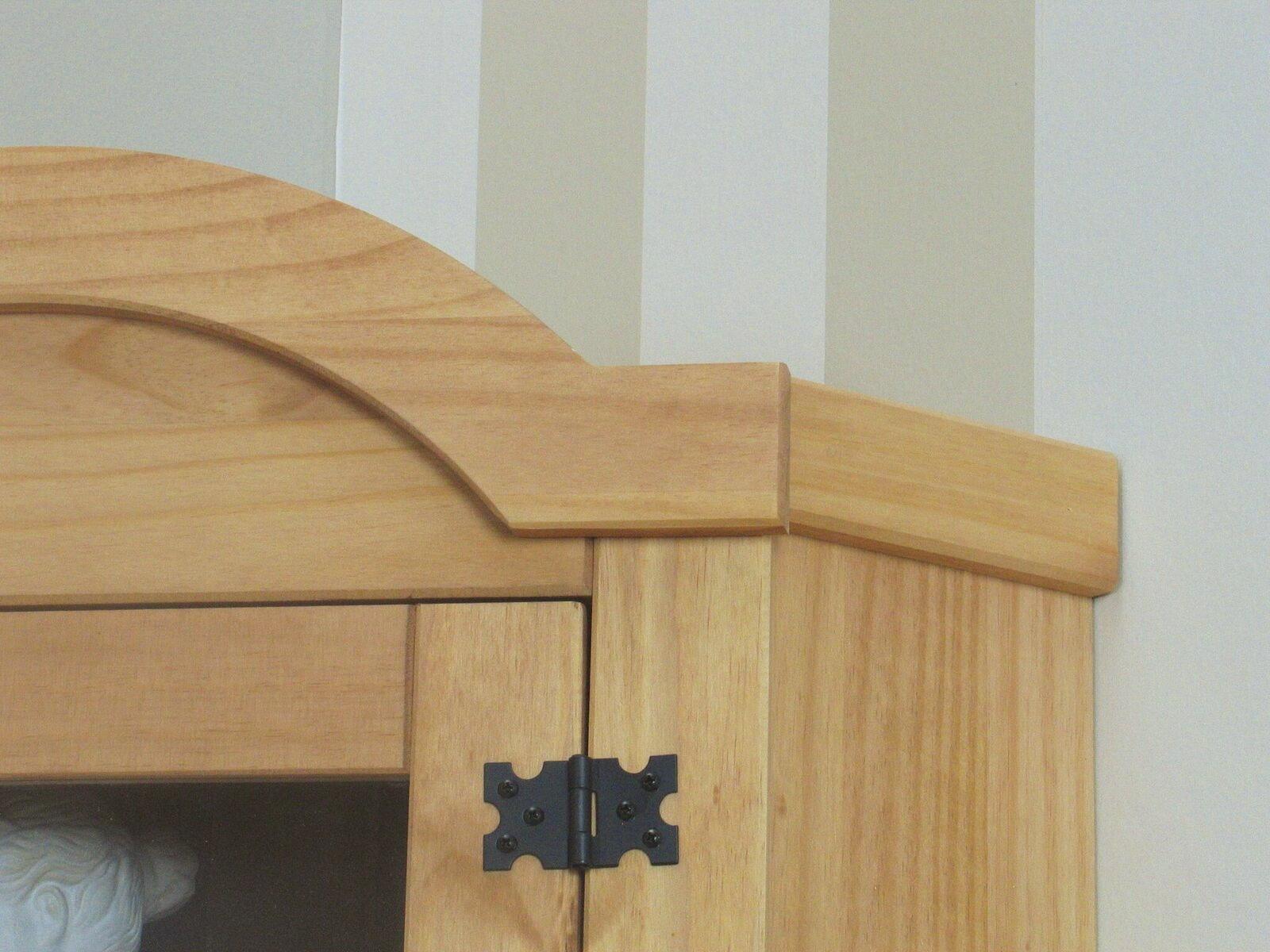 Free Eckschrank Kiefer Natur New Mexico Massiv Mbel Wohnen Wohnzimmer With