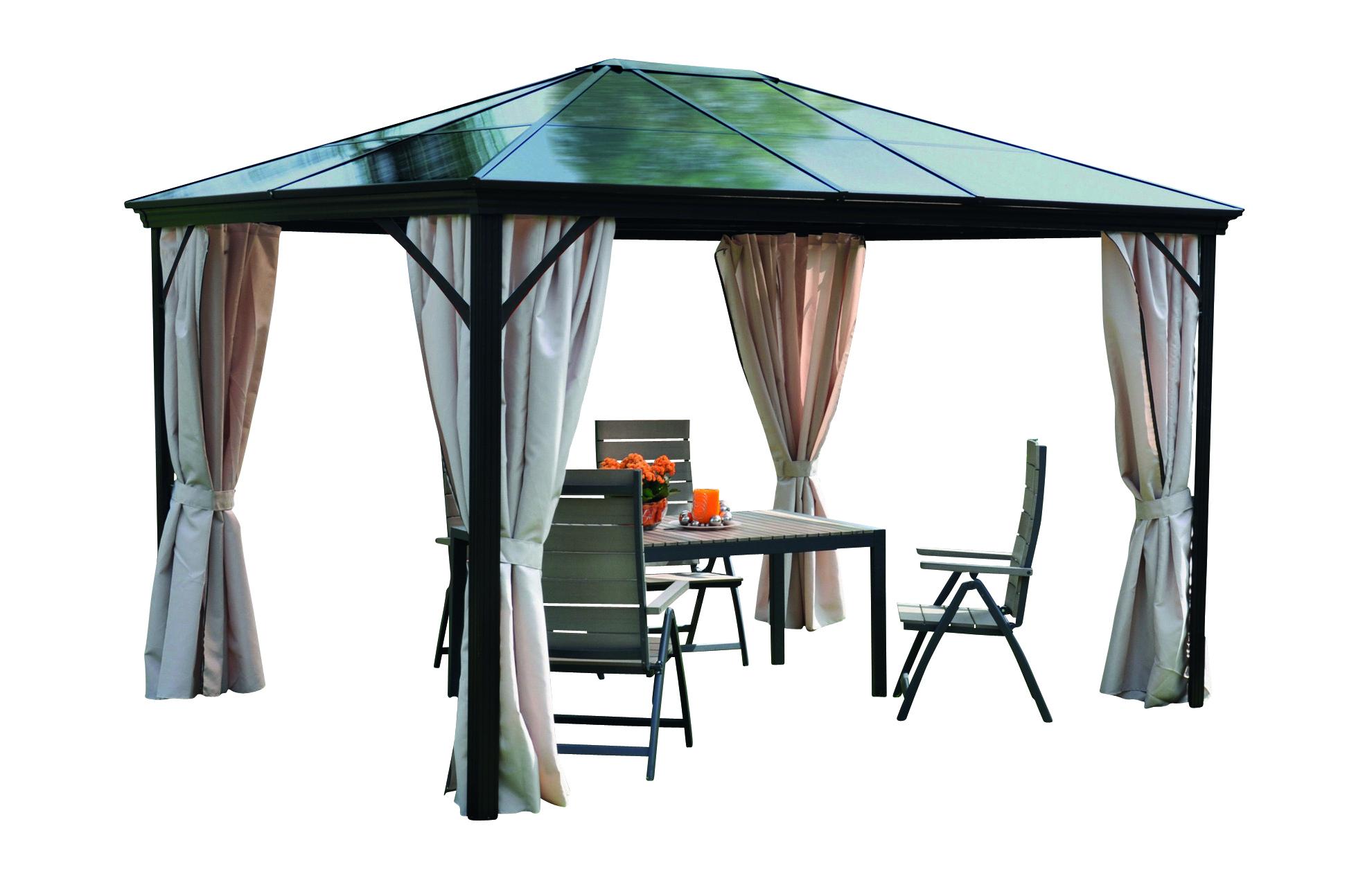 leco profi pavillon seitenteile 3 x 3 65m sonnenschutz festzelt partyzelt ebay. Black Bedroom Furniture Sets. Home Design Ideas