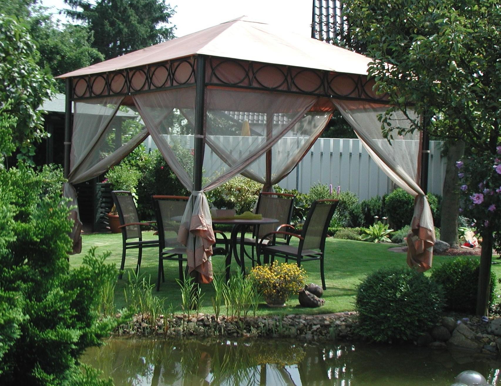 Festzelt Pavillon Design : Design leco pavillon safari m gartenmöbel festzelt partyzelt