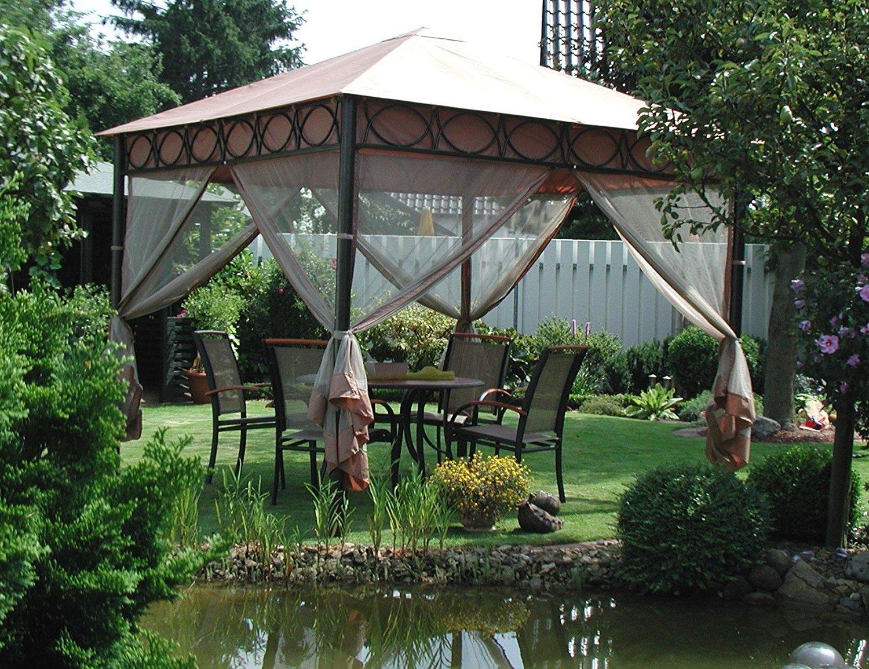 4x seitenteil f r leco pavillon safari 3x3m moskitonetz. Black Bedroom Furniture Sets. Home Design Ideas