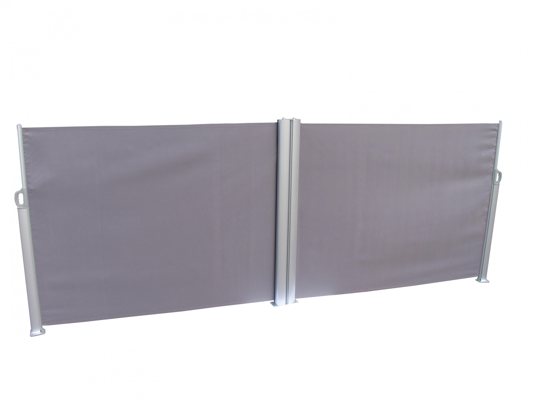 leco doppel seitenmarkise markise 1 6x6m sichtschutz. Black Bedroom Furniture Sets. Home Design Ideas