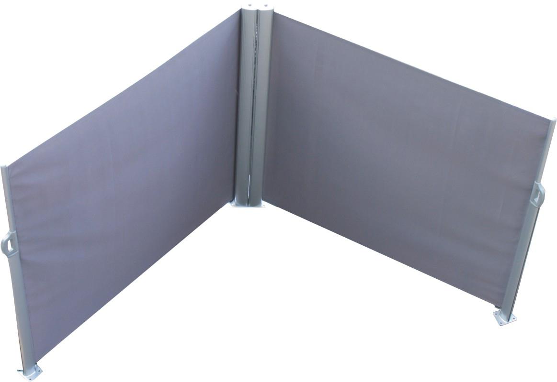 Leco Doppel Seitenmarkise Markise 1 6x6m Sichtschutz Trennwand