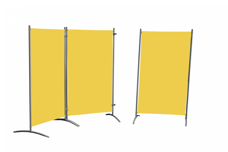 3tlg garten leco stellwand windschutz sichtschutz balkon terrasse gelb dynamic. Black Bedroom Furniture Sets. Home Design Ideas
