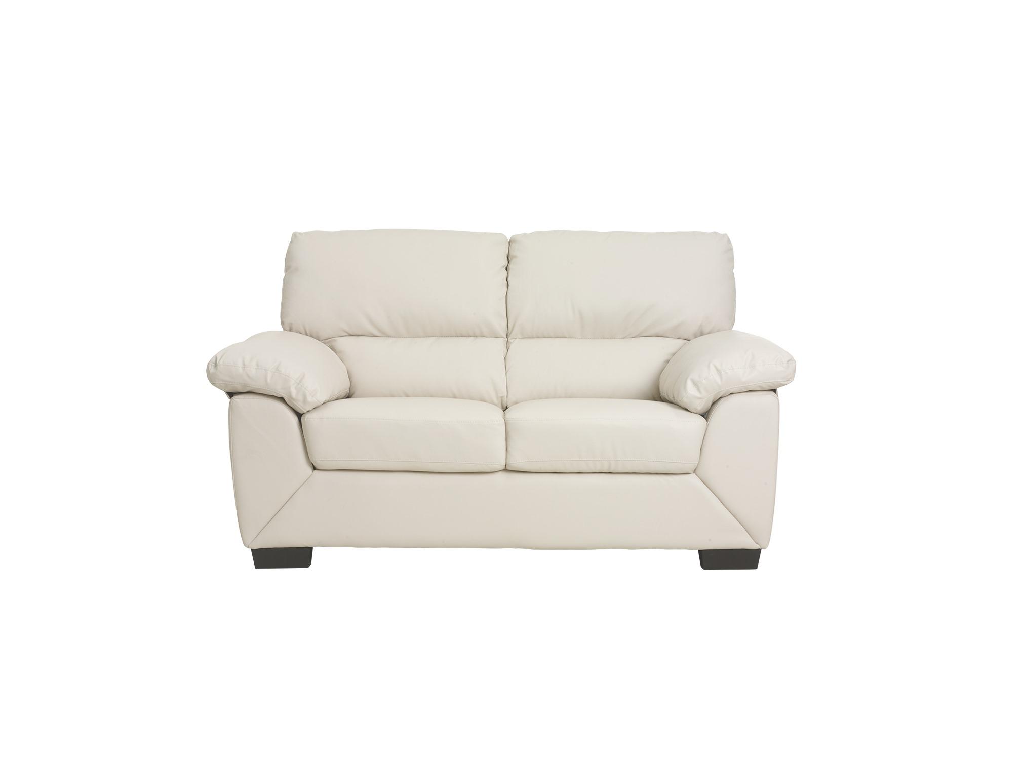 Pkline 2 sitzer sofa rica in creme couch couchgarnitur for Wohnlandschaft 10 personen