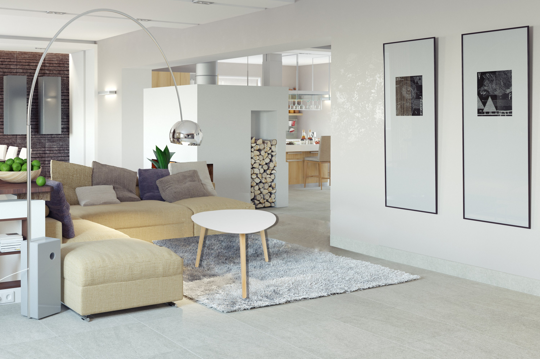 Beistelltisch Weiss Sofatisch Wohnzimmertisch Tisch Dreieckig