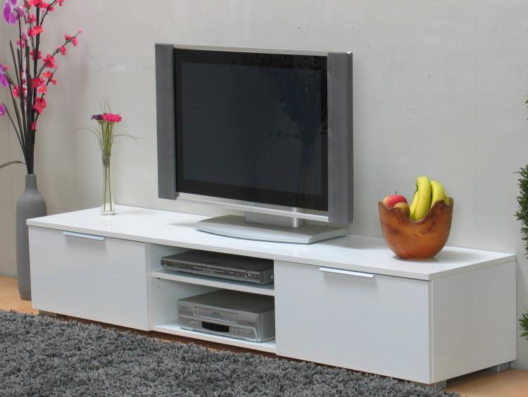 tv m bel hifi tisch fernsehtisch lowboard medienschrank. Black Bedroom Furniture Sets. Home Design Ideas