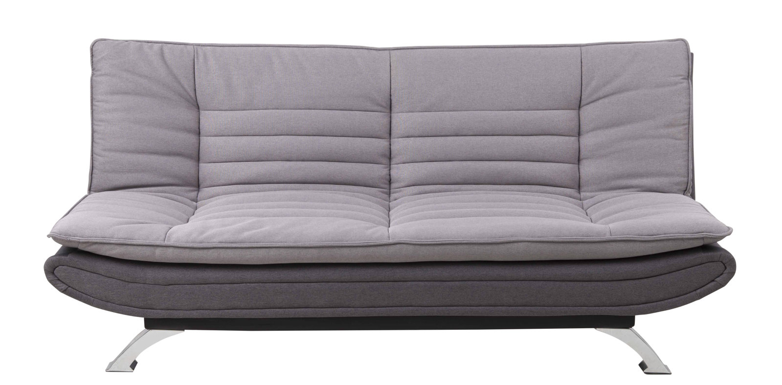 pkline schlafsofa fanny in grau schlafcouch funktionssofa. Black Bedroom Furniture Sets. Home Design Ideas