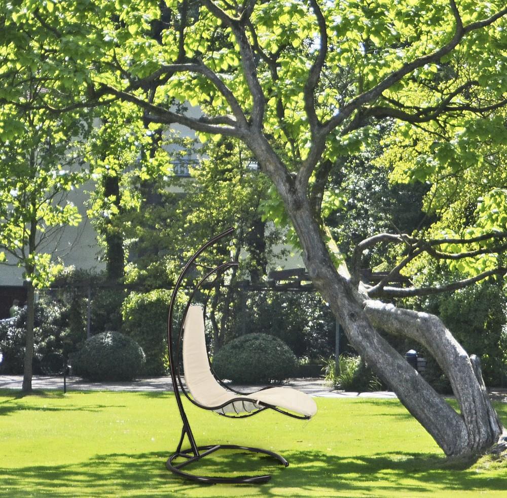 garden pleasure h ngesessel h ngestuhl h ngesitz garten schaukel h ngekorb ebay. Black Bedroom Furniture Sets. Home Design Ideas