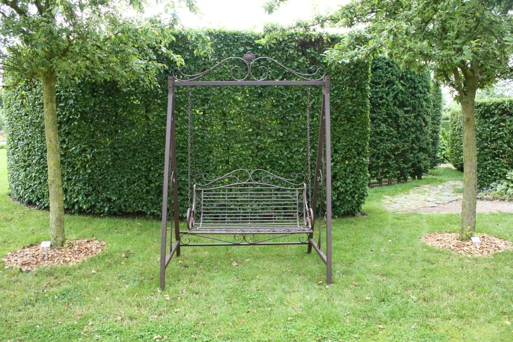 garden pleasure metall schaukel hollywoodschaukel h ngeschaukel rost antik optik dynamic. Black Bedroom Furniture Sets. Home Design Ideas