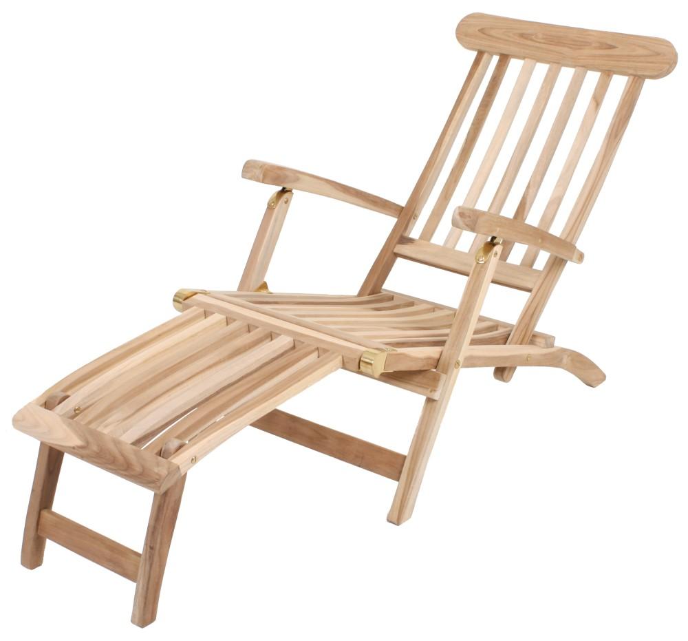 garden pleasure teak deckchair garten holz relax liege sonnenliege m bel ebay. Black Bedroom Furniture Sets. Home Design Ideas