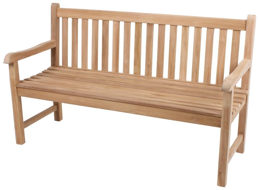 garden pleasure teak garten bank solo 3 sitzer sitzbank. Black Bedroom Furniture Sets. Home Design Ideas