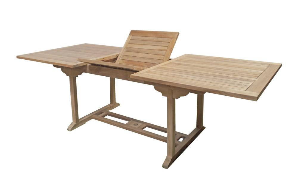 garden pleasure teak gartentisch solo garten holz esstisch. Black Bedroom Furniture Sets. Home Design Ideas