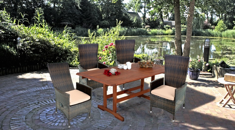 garten sessel verstellbar stuhl st hle hochlehner terrasse m bel coffee ebay. Black Bedroom Furniture Sets. Home Design Ideas