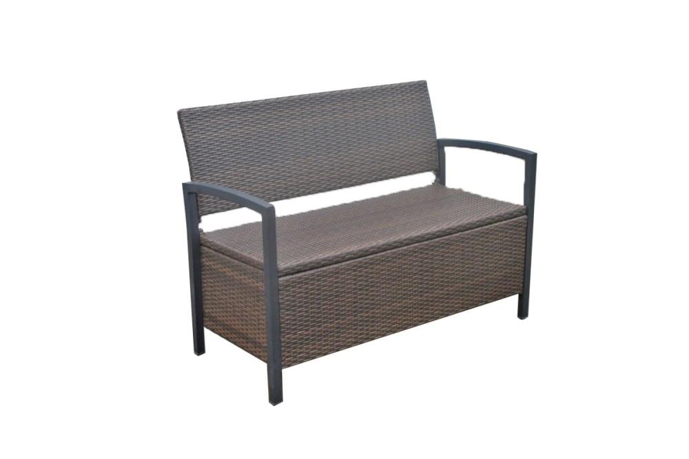 garden pleasure parkbank ferrara rattan optik garten bank sitzbank m bel ebay. Black Bedroom Furniture Sets. Home Design Ideas