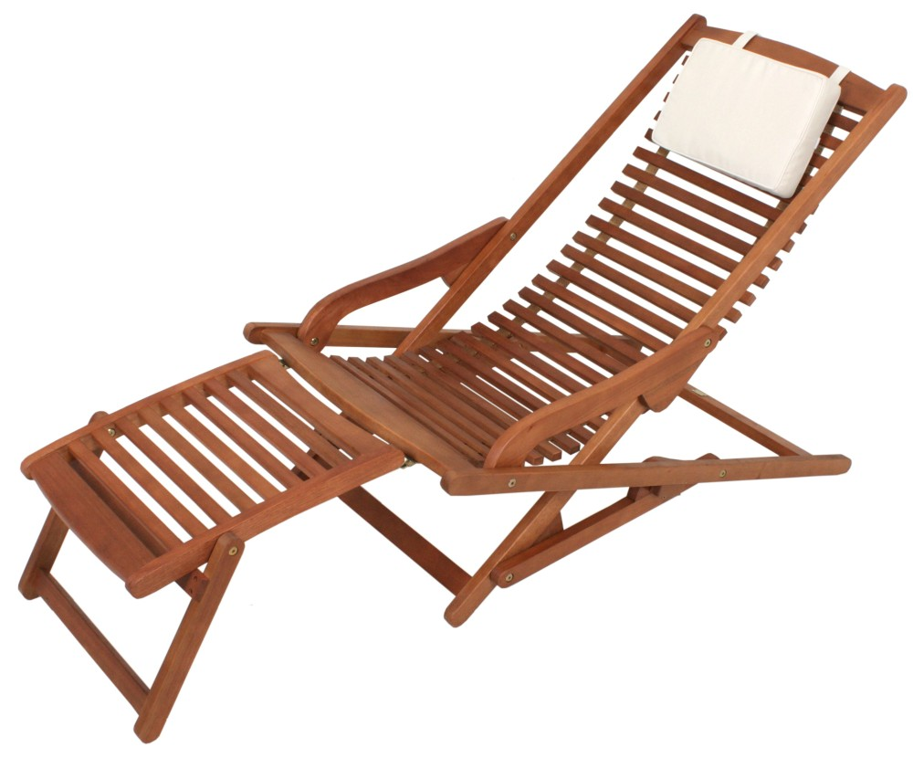 garden pleasure lounge eukalyptus holz sonnenliege garten. Black Bedroom Furniture Sets. Home Design Ideas