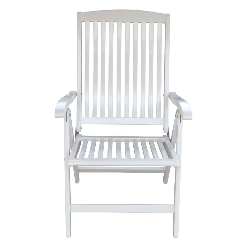 garden pleasure hochlehner toledo garten sessel stuhl eukalyptus holz wei ebay. Black Bedroom Furniture Sets. Home Design Ideas