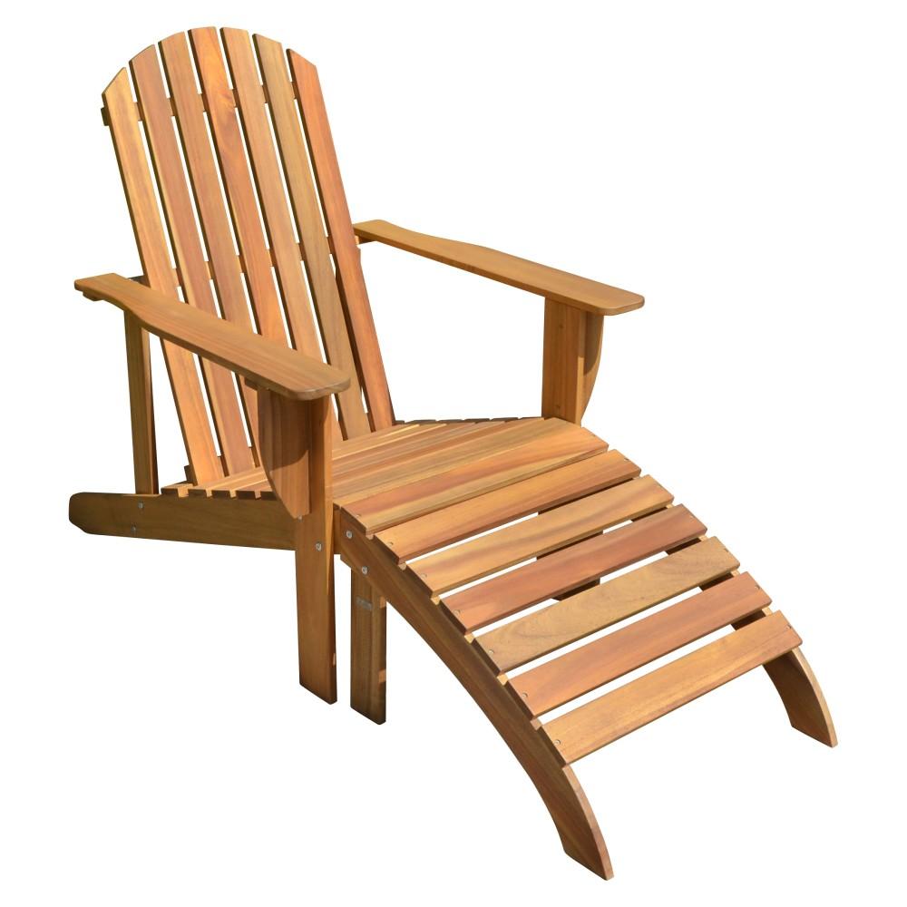 holz adirondack chair auflage garten sonnenliege relax liege m bel liegesessel garten m bel. Black Bedroom Furniture Sets. Home Design Ideas