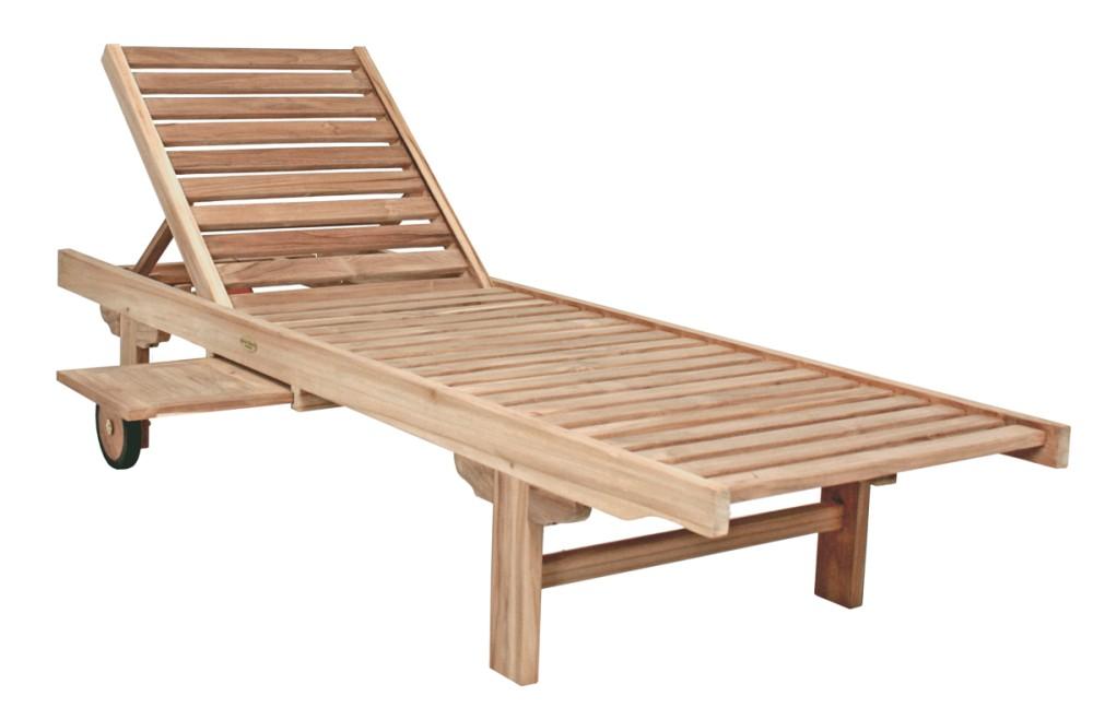 garden pleasure teak sonnenliege solo gartenliege relaxliege garten holz liege ebay. Black Bedroom Furniture Sets. Home Design Ideas