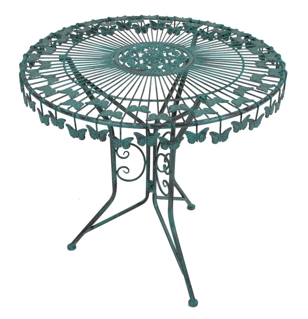 Garden Pleasure Metall Balkon Tischgruppe Garten Tisch + Stuhl ...