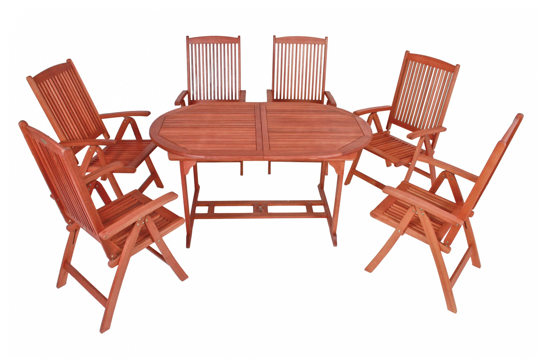 Garden Pleasure Garten Sitzgruppe Stockholm Holz Tisch + Stuhl ...