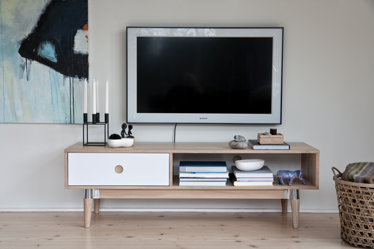 tv hifi tisch board acky lowboard phono schrank kommode. Black Bedroom Furniture Sets. Home Design Ideas
