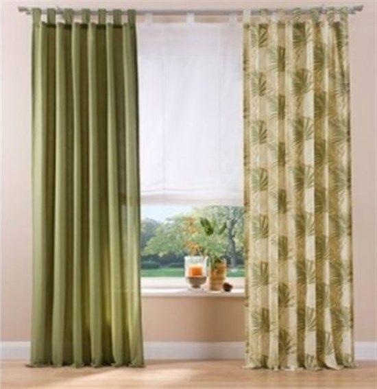 2x fertigdeko vorhang kr uselband schal gardinen. Black Bedroom Furniture Sets. Home Design Ideas