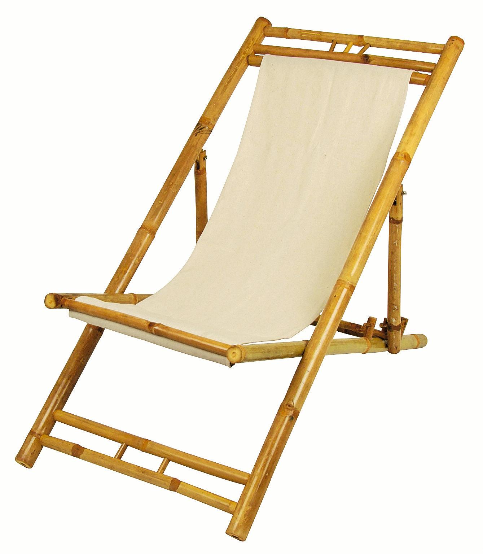 Bambus relax liegestuhl garten stuhl sonnenliege holz for Garten bambus